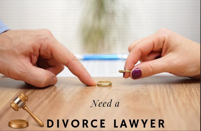 Hiring divorce lawyer